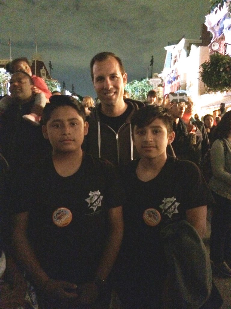 Boys at Disneyland Forever